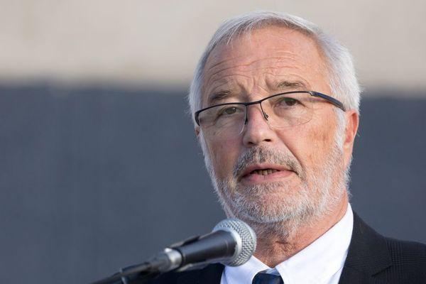 François Rebsamen, maire PS de Dijon et président de Dijon métropole, le 11 septembre 2019.