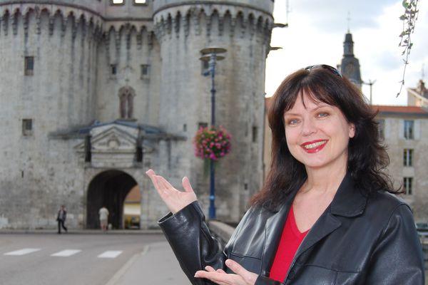 Marylène Bergmann à Verdun, sa ville natale