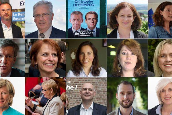 Les 15 députes de La République En Marche élus à l'Assemblée Nationale dans le Nord et le Pas de Calais