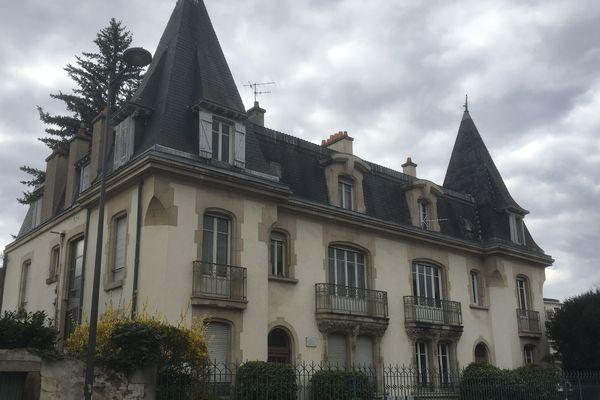 Château de Moulinsart ? Non, c'est la maison d'Emile Coué à Nancy
