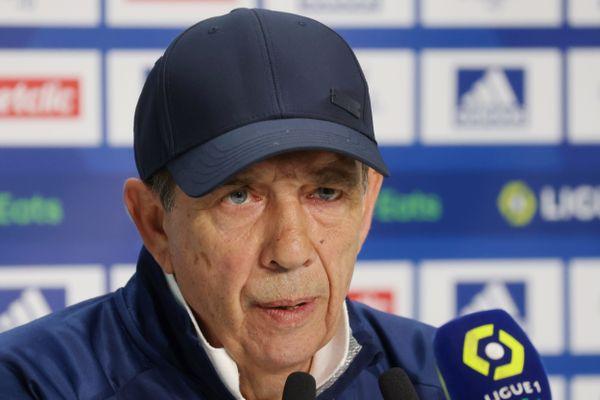 Jean-Louis Gasset le 3 mars 2021 Bordeaux-Psg 28e journée de Ligue 1