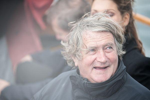 Olivier de Kersauson, chez lui à Brest