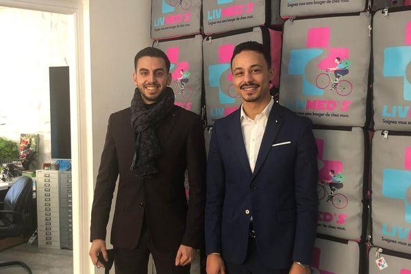 Talel Hakimi et Mehdi Matyja se sont rencontrés en 6ème sur les bancs du collège Roland Garros à Nice.