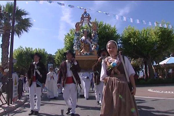 Sainte-Maxime, Sainte Patronne de la cité varoise, honorée pendant 2 jours