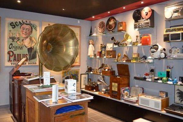 Le musée du phonographe, à Paris, dans le 9ème arrondissement.