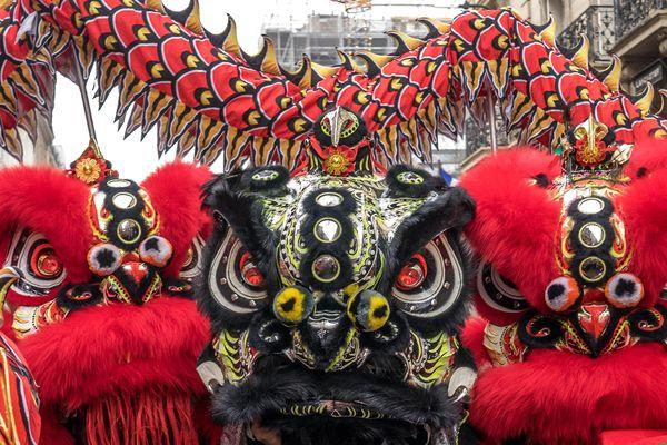 Les festivités du Nouvel An chinois du 25 janvier 2020, elles, ont bien eu lieu (illustration).