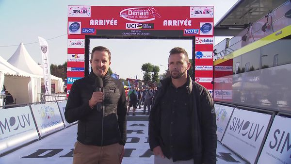 Matthieu Rappez et Jimmy Casper commentent la course dès 14 heures sur France 3 Hauts-de-France.