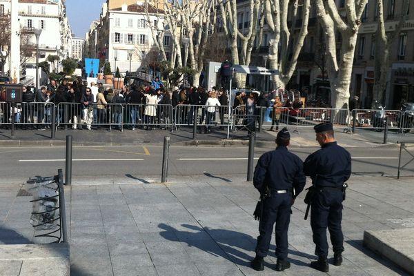 Manifestation des animateurs de centres sociaux à Marseille