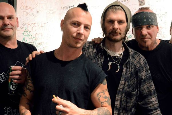 Les punks de Discharge au festival Grat'Moila le 7 septembre