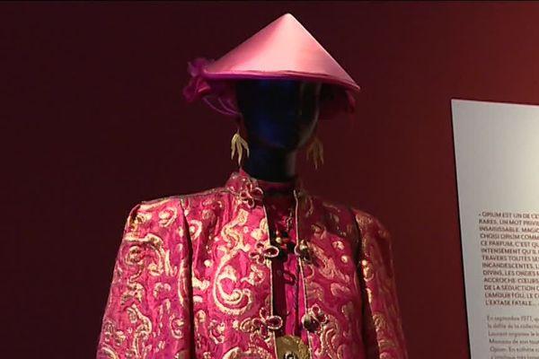 """""""Ensemble de soir"""" collection haute couture automne 1977"""