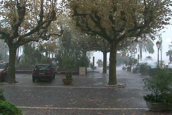 Des précipitations importantes se sont abattues dimanche dernier au Lavandou dans le Var