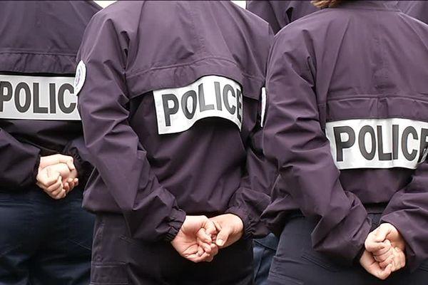 Au commissariat de Police de Besançon, ce matin.