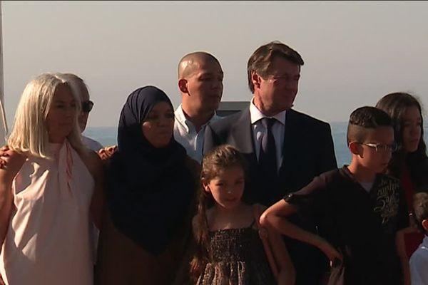 L'émotion est forte au sein des familles de victimes qui reviennent sur les lieux du drame en cette journée de commémoration.