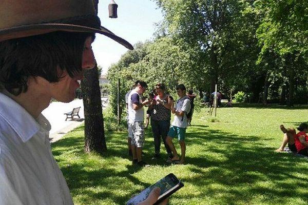 Des milliers d'adeptes des Pokemon se sont retrouvés ce dimanche à Toulouse pour une chasse géante.