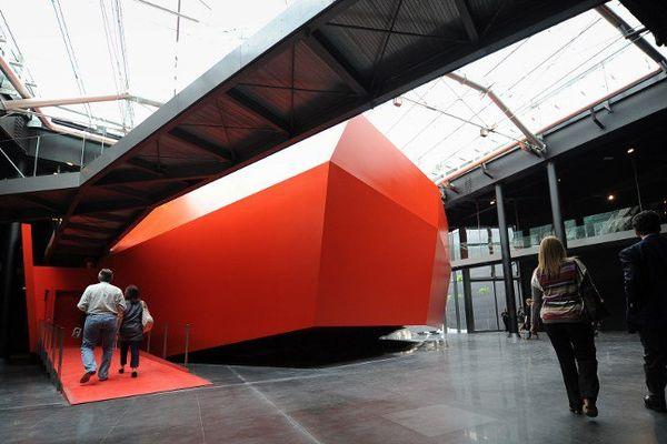 Le musée d'art contemporain de Rome, réalisé par Odile Decq et inauguré en décembre 2010.