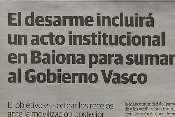 Extrait du quotidien El Diaro Vasco