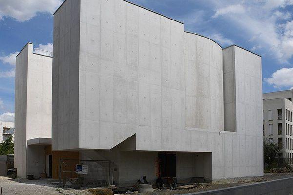 Anastasis la première église du XXIème siècle en Bretagne devrait être terminée dans quelques mois
