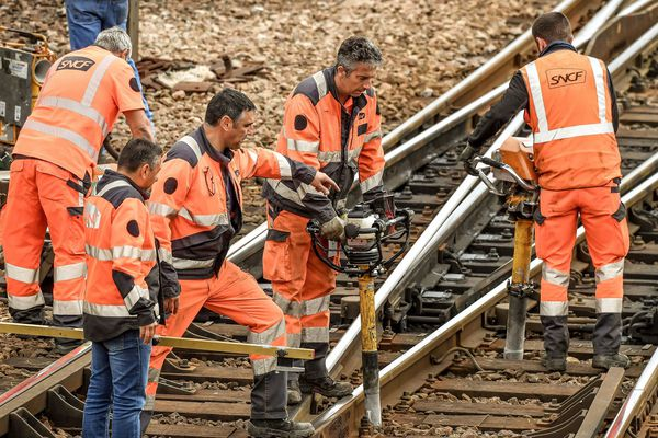Les travaux de rénovation nécessitent de couper la circulation des trains pendant 2 jours sur l'axe Paris Clermont-Ferrand
