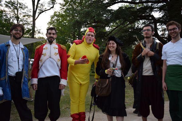 Les festivaliers costumés (ou en cosplay) s'en sont donné à coeur joie