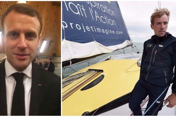 Le skipper dunkerquois Thomas Ruyant participe à la Transat Jacques Vabre.