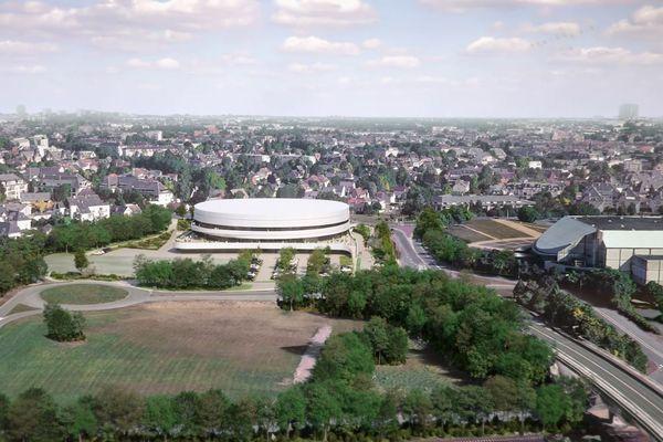 le projet du nouveau palais des sports de Caen-la-Mer dévoilé
