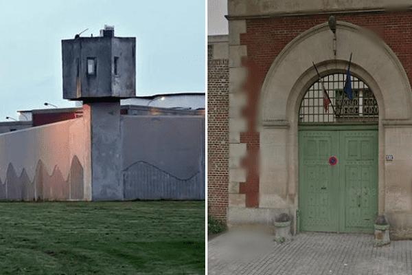 80 des 400 détenus de la prison de Maubeuge ont été évacués vers celle d'Amiens.