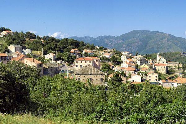 Le village de Murato (Haute-Corse)