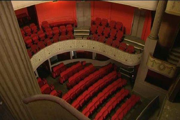 Le théâtre à l'italienne de Guéret est unique en Limousin