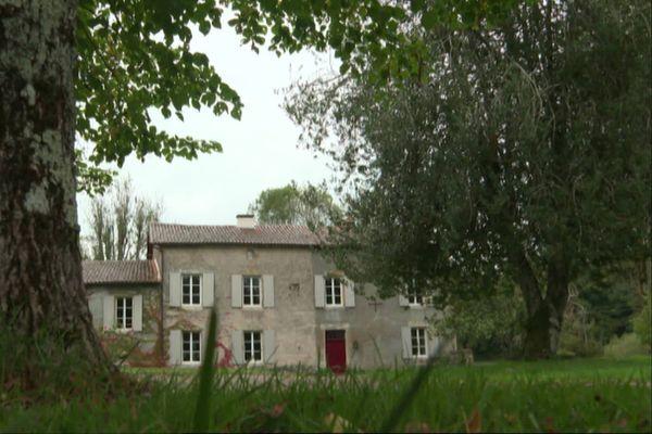 La Maison Maria Casarès à Alloue en Charente.