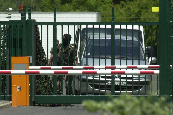 Le centre d'entraînement de la DGSE de Cercottes, dans le Loiret, est hautement surveillé. Photo d'illustration