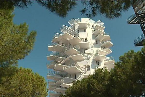 L'Arbre blanc élu plus bel immeuble d'habitation au monde. 2020.