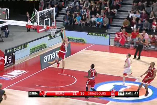 La SIG, défaite par Bourg-en-Bresse après avoir dominé toute la partie