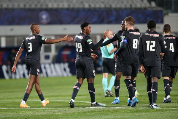 Le LOSC s'est imposé 3 à 1 et se qualifie pour les 8èmes de finale de coupe de France.