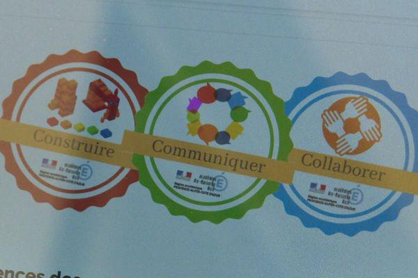 Badges numériques attribués aux professeurs de l'académie de Nice