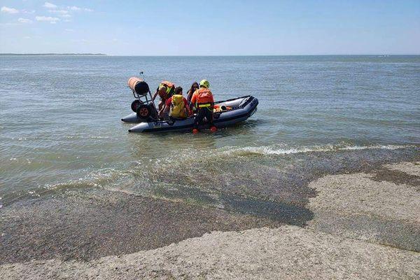 Deux promeneurs isolés en Baie d'Authie ont été sauvés par les secours en mer.