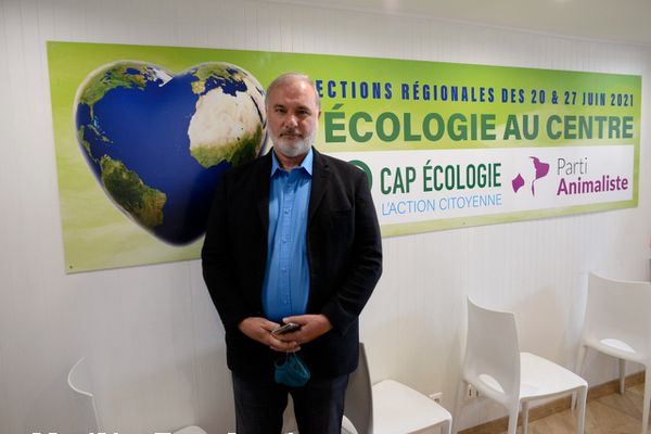 Jean-Marc Governatori, venu du centre-droit, a fondé son parti Cap Écologie cette année avec Corinne Lepage, ancienne ministre de l'environnement