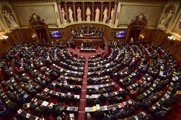Le Sénat Français est installé au Palais du Luxembourg à Paris