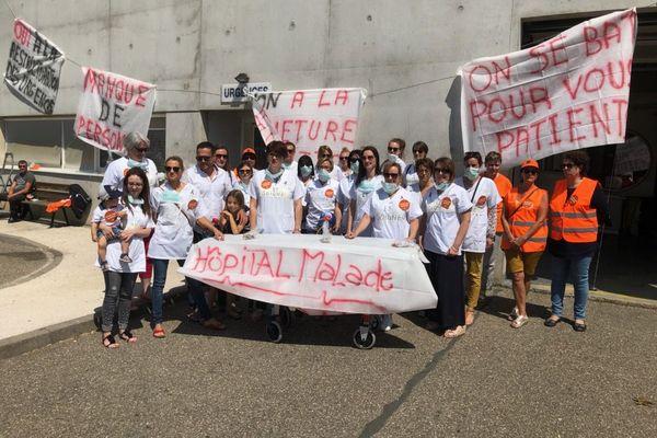 Le service des urgences du groupement hospitalier Sélestat-Obernai (GHSO) est en grève illimitée.