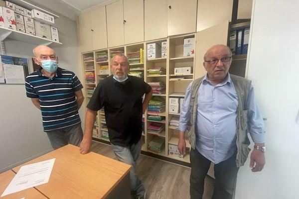 Trois des 727 anciens mineurs lorrains qui vont être indemnisés par l'Etat pour préjudice d'anxiété.