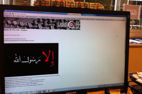 Le site web de Radio-G à Angers victime d'une cyber attaque