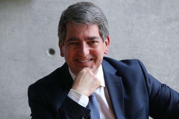 Jean Rottner, tête de liste Les républicains aux prochaines élections régionales.
