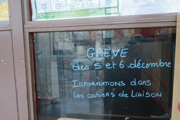 Environ la moitié des écoles seront fermées jeudi 5 décembre dans le département de l'Isère.