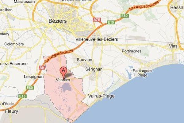 Vendres près de Béziers