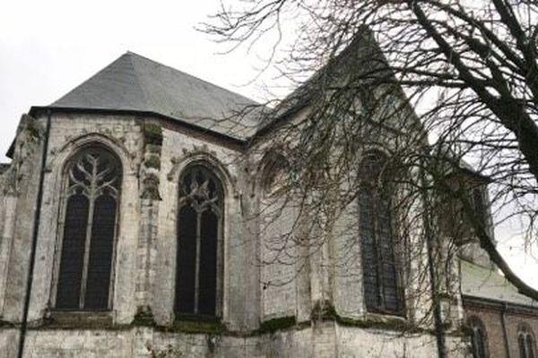 L'église d'Estrées-lès-Crécy, dans la Somme.