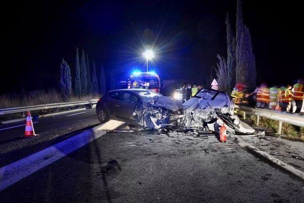 Deux personns sont mortes dans un accident d la route à Perpignan, vendredi 13 novembre dans la soirée