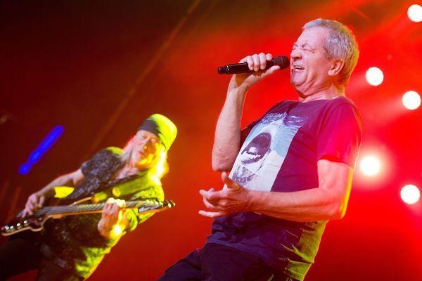 Deep Purple en 2017 à Lodz en Pologne