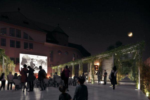"""Les Bains municipaux comprendront un """"espace polyvalent"""""""