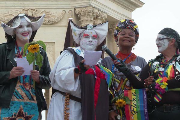 Alice Nkom, marraine de l'édition 2021 de la marche des fiertés à Montpellier