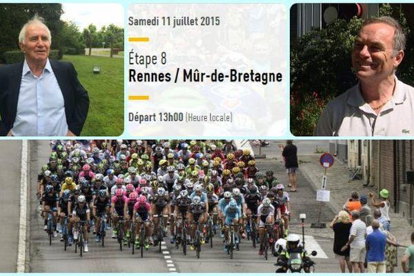 Cette 8e étape pourrait permettre aux coureurs Bretons de se faire remarquer