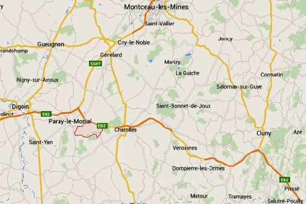 Un accident mortel s'est produit dimanche 19 avril 2015, sur la RCEA (route Centre-Europe-Atlantique), à la hauteur de la commune d'Hautefond, en Saône-et-Loire.